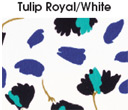 Tulip Royal/White