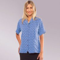 Ladies blouses shirt overblouse corporate medical healthcare