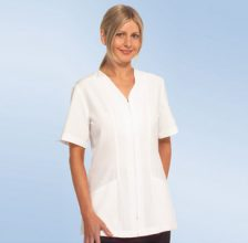 Beauty Spa Salon Healthcare Medical v-neck zip front jacket