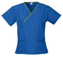 Ladies crossover scrub top scrubs uniform shop Melbourne