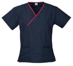 Ladies crossover scrub top scrubs uniform shop Melbourne