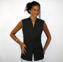 Spa Salon Beauty Medical Healthcare Dental Pharmacy zip vest