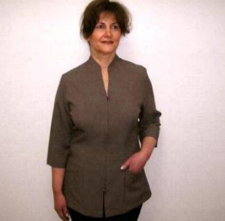Spa Salon Beauty Medical Healthcare 3/4 sleeve jacket