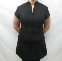 Spa Beauty Salon longline zip jacket