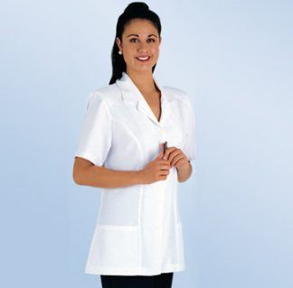 Medical Healthcare Pharmacy button front Protective jacket