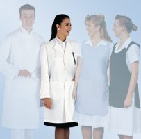 Healthcare Button front lab coat laboratory coat dust coat