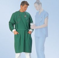 Surgical gown protective healthcare medical hospital gown