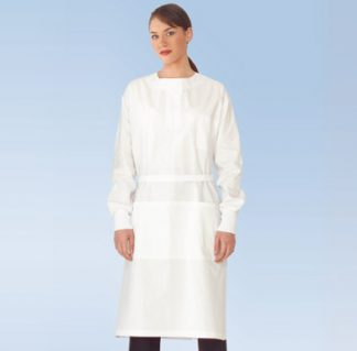 healthcare medical gown protective gown long knitted cuffs