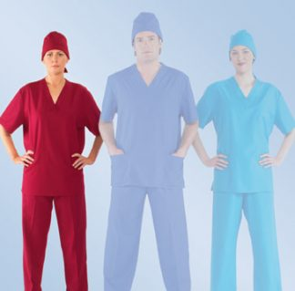 Ladies scrub top scrubs