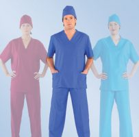 Unisex scrub hat scrub top protective wear uniform shop Melbourne