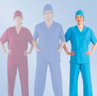 Ladies scrub top scrubs