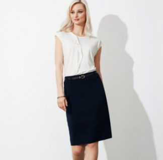 Ladies Corporate knee length Skirt