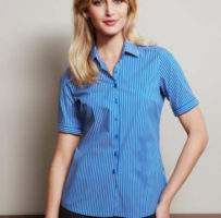 Ladies Zurich Short Sleeve Shirt S416LS
