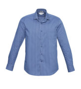 S416ML French Blue Zurich mens long sleeve shirt