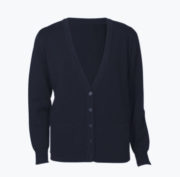 LC8008 Button cardigan 2 front pockets