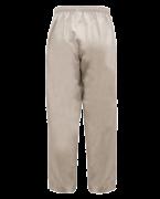 M88002 Latte unisex scrub pant back