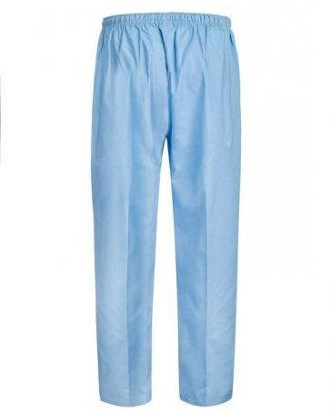 M88003 Light Blue unisex scrub pant back